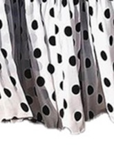 Casual Polka Dots Pleated Dress Pullover Women's Two Piece Sets