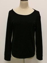 Round Neck Lace Backless Women's T-Shirt