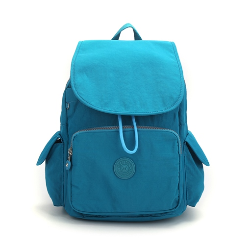 Fashion Plain Preppy Canvas Backpack