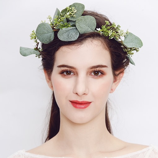 Artificial Plant Wedding Headwear