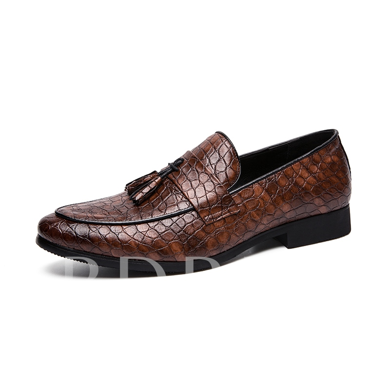 Flat Professional PU Leather Shoes for Men