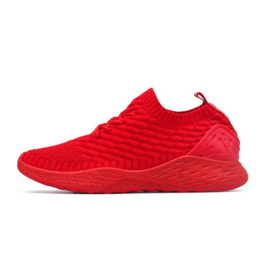 Mid-Cut Upper Lace-Up Round Toe Mesh Sneakers for Men