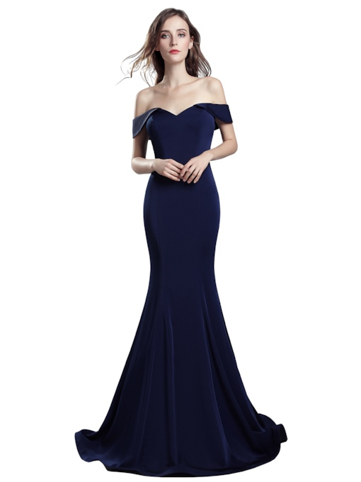 Trumpet Floor-Length Sweetheart Evening Dress 2019
