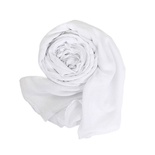 Plain Solid Color Soft Lighter Voile Scarf