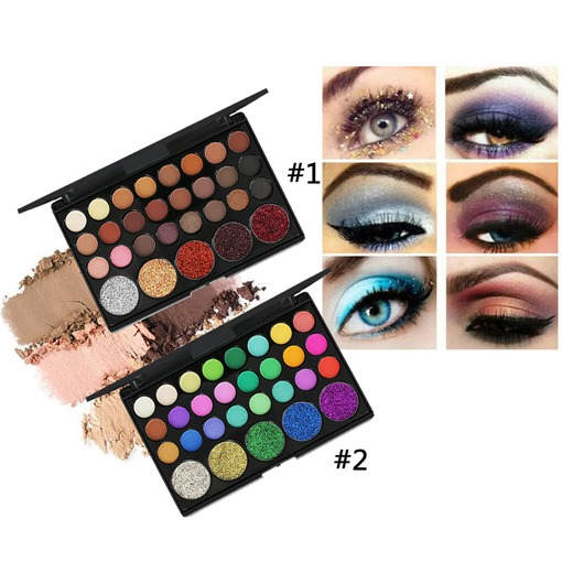 29 Color Shining Eyeshadow Palette Makeup Glitter