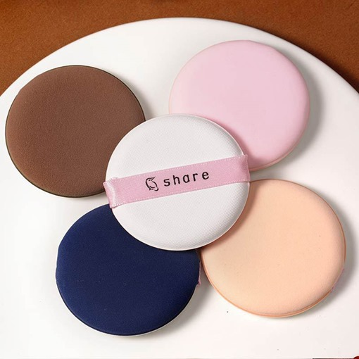 8 Pcs Round Air Wet Dry Dual Use Makeup Powder Puff
