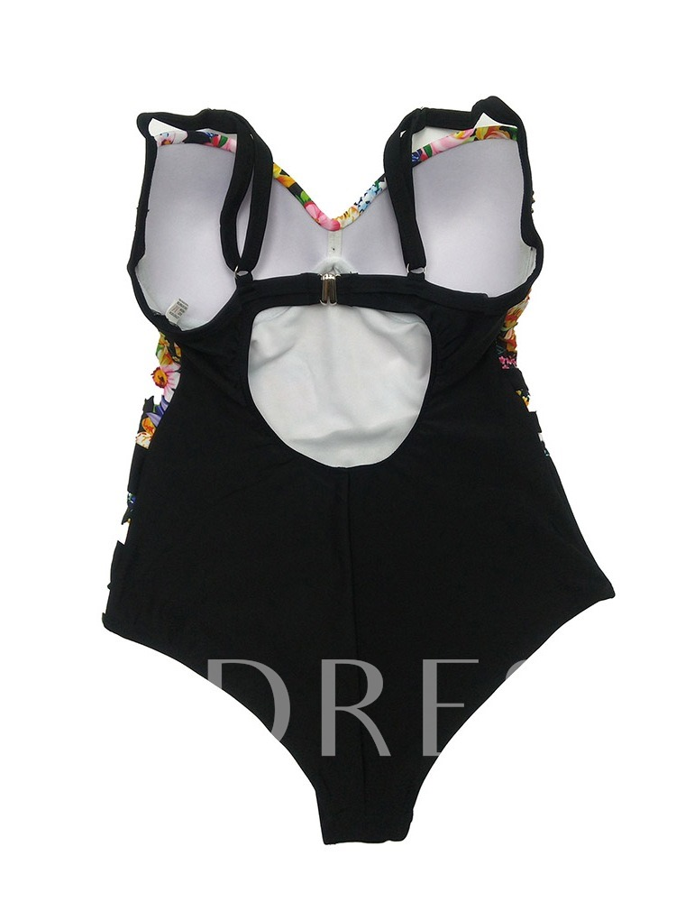 Sexy Print One Piece Women's Swimwear