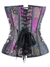 Punk Gothic Chain Sleeveless Women's Corset