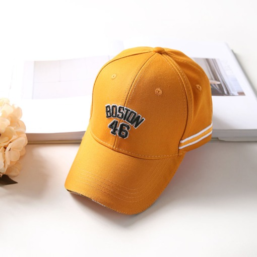 Brighter Letter Embroidery Cotton Baseball Cap