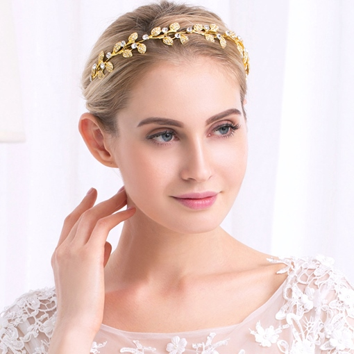European Handmade Rhinestone Wedding Tiara