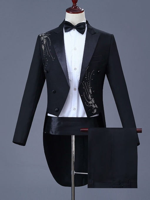 Diamond Blazer Men's Dress Suit