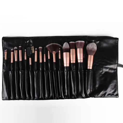 16 Pcs Pro Makeup Brushes for Eye Shadow Set Foundation