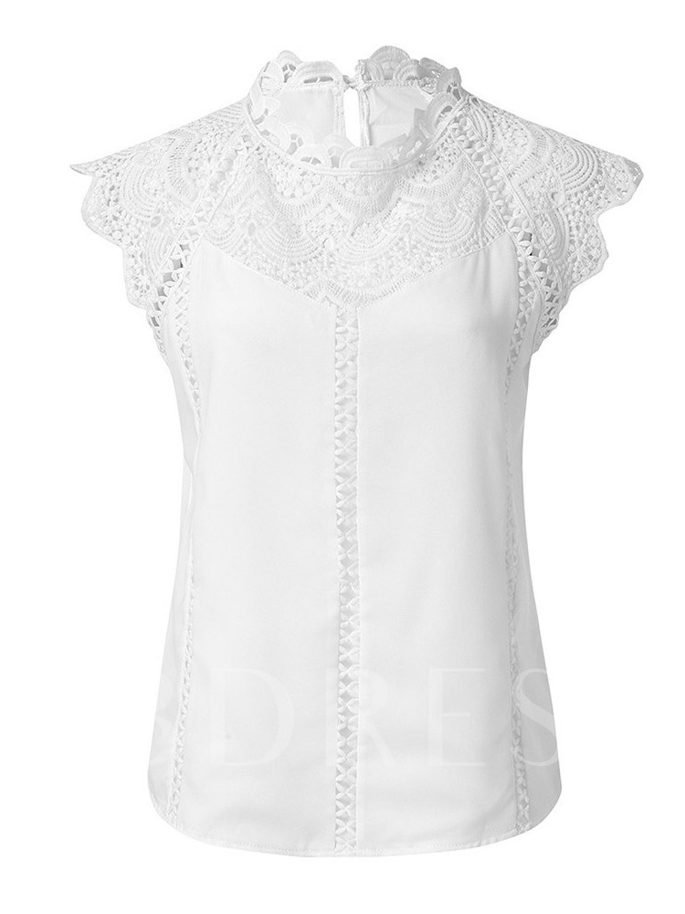 Lace See-Through Raglan Sleeve Women's T-Shirt
