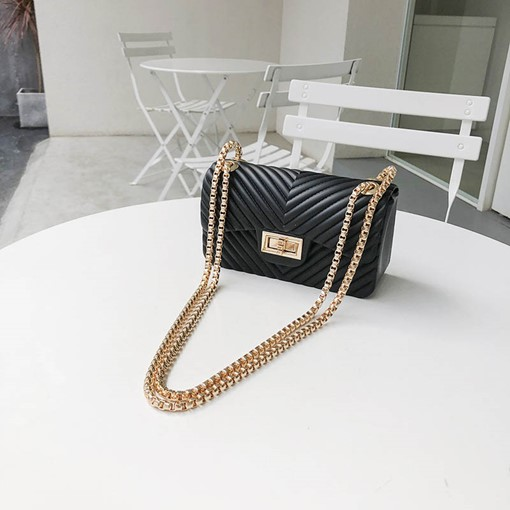 Mini Thread PU Rectangle Crossbody Bags