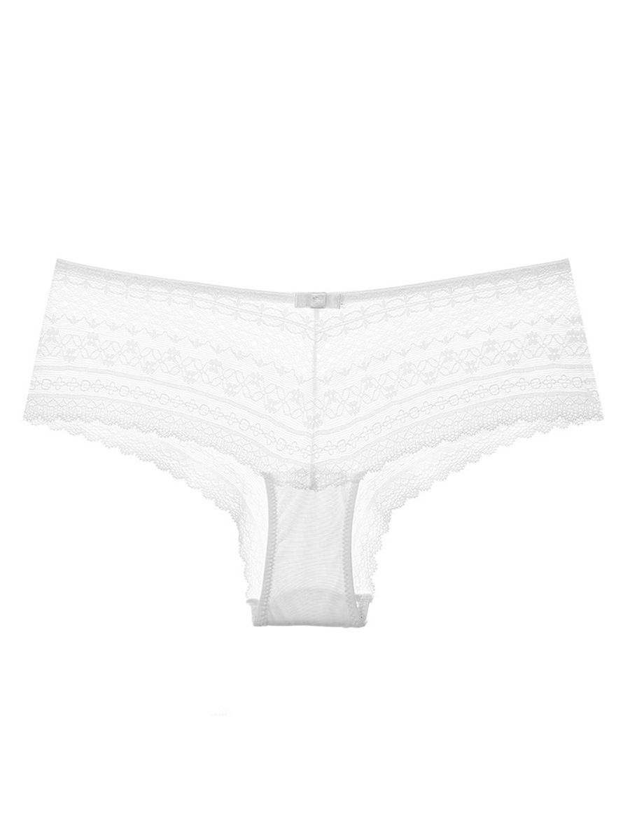 Hollow Sexy Mid Waist Women's Panty