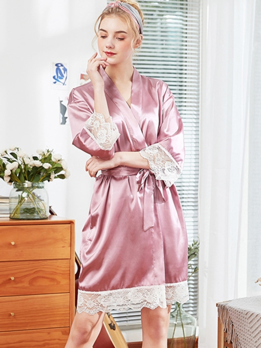 Lace Sweet Women's Night Robe