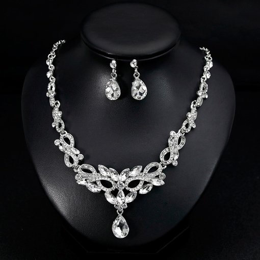 Necklace European Water Drop Jewelry Sets (Wedding)