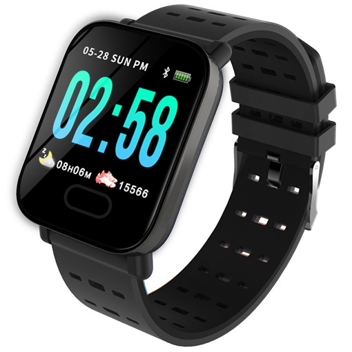 A6 Passometer,Sleep Tracker,Fitness Tracker,Smart Reminder for IOS Android Phones