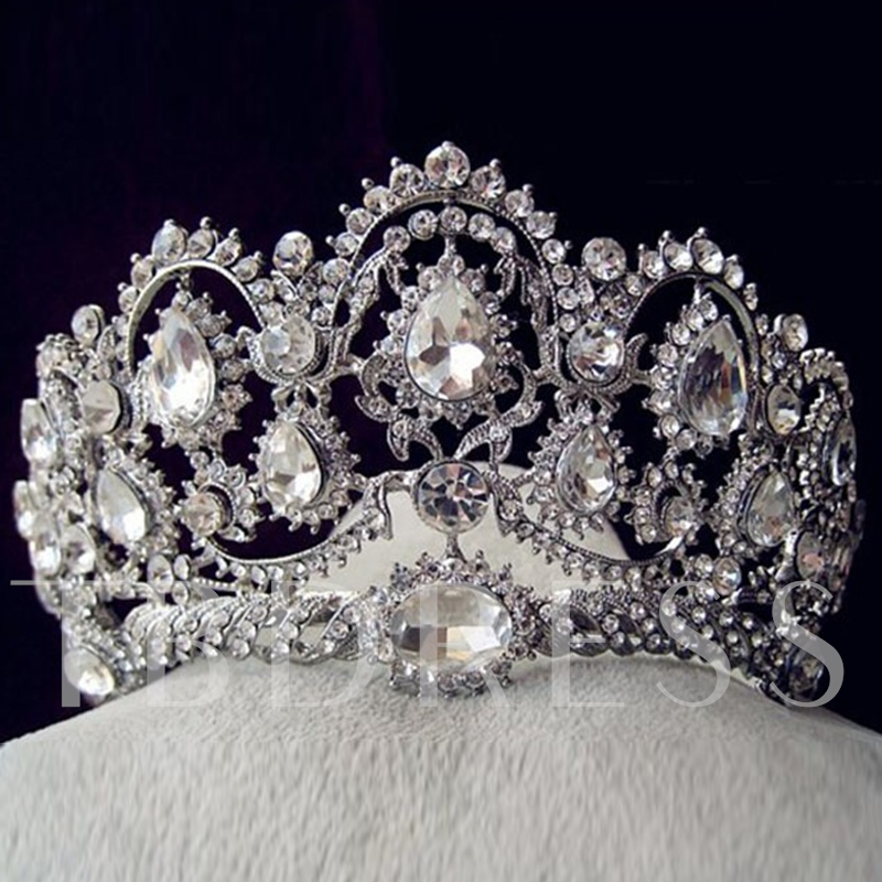 Shiny Tiara Crown European Hair Accessories (Wedding)