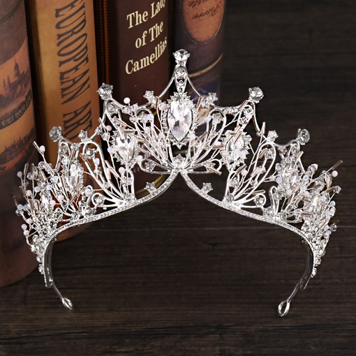 Tiara Korean Crystal Inlaid Hair Accessories (Wedding)