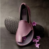 Toe Ring Slip-On Flat Vintage Sandals