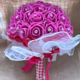European Rose Plastic Wedding Decorating Flowers