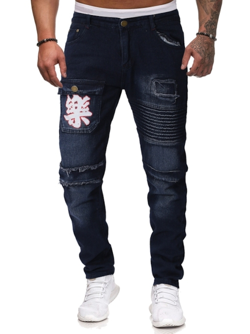 Slim Full Length Men's Jeans
