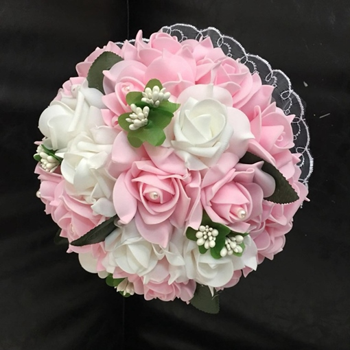Rose Cloth Korean Wedding Decorating Flowers
