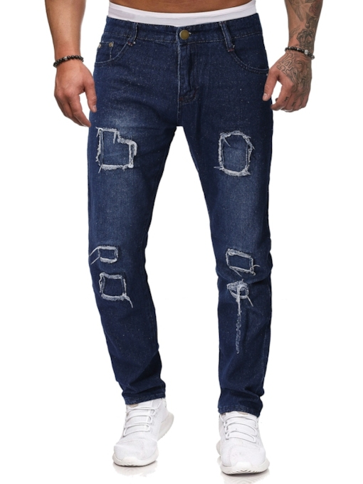 Full Length Slim Men's Jeans