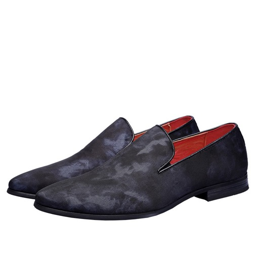 Slip-On Camouflage Pointed Toe Men's Dress Shoes