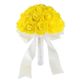 Cloth European Rose Bridal Decorating Flowers