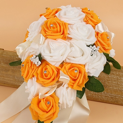 Cloth Rose European Wedding Decorating Flowers Cloth Rose European Wedding Decorating Flowers