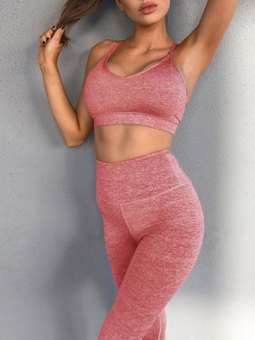 Sleeveless Running Clothing Sets Sportswear