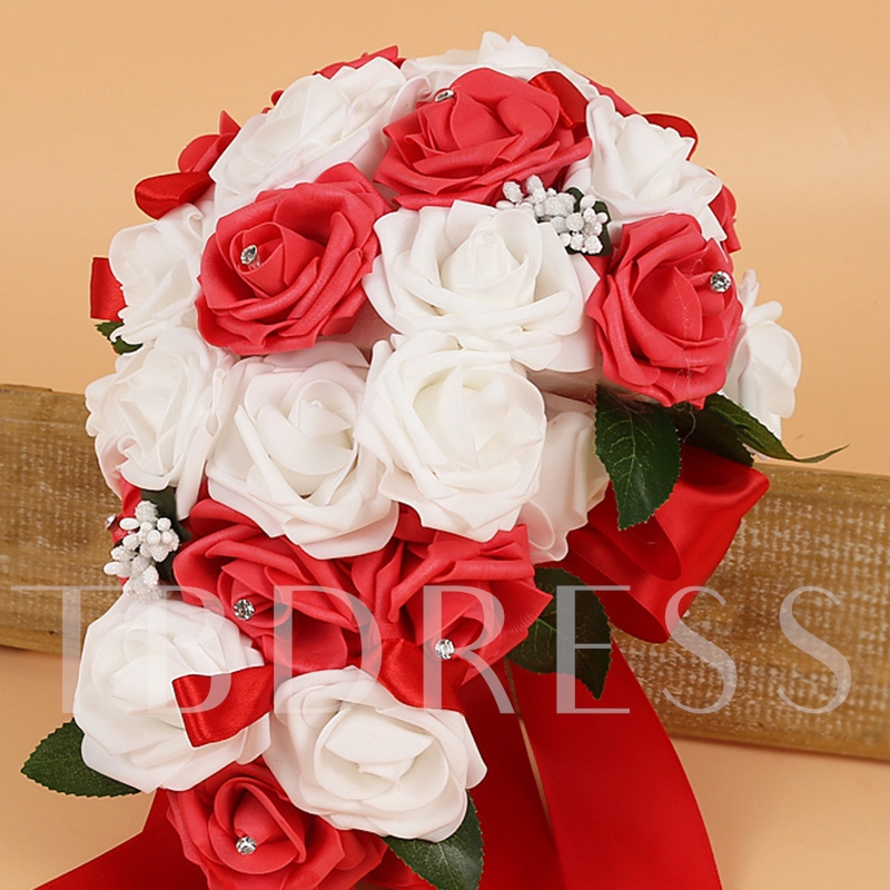 Cloth Rose European Wedding Decorating Flowers