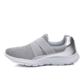 Round Toe Elastic Band Low-Cut Upper Thread Women's Sneakers