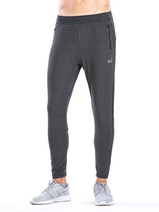 Running Pockets Men's Quick Drying Sports Workout Trousers