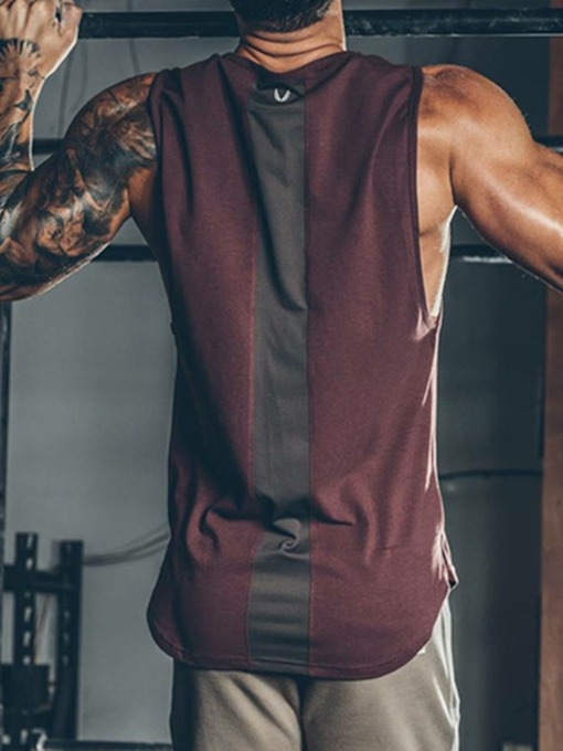 Cotton Breathable Sleeveless Men's Sports Vests