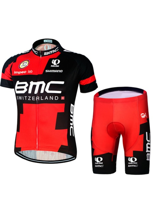 Men's Bicycle Short Sleeve Quick-Dry Breathable Cycling Set