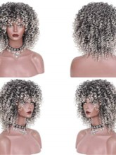 Capless Women Synthetic Hair 16 Inches Wigs