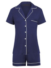 Modal Simple Regular Women's Short Pajama Set