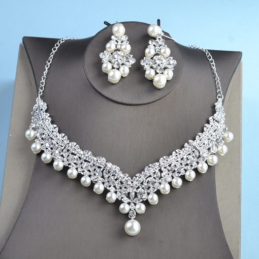 Earrings Spherical E-Plating Jewelry Sets (Wedding)