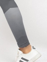 Color Block Stripe High Waist Sports Casual Leggings