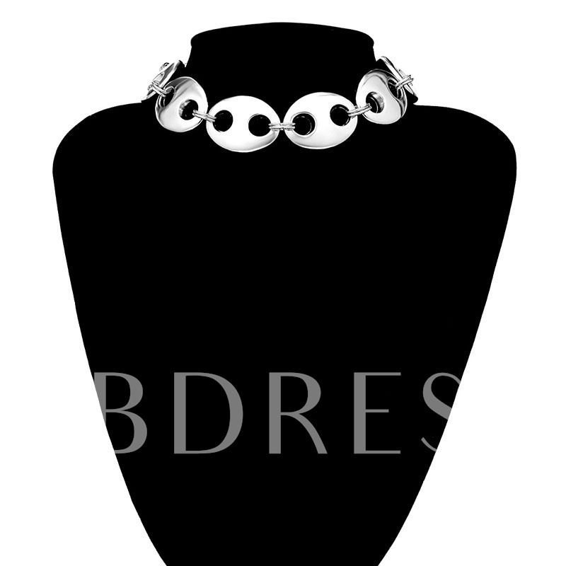 Charms Creative Big Pig Nose Necklace for Women