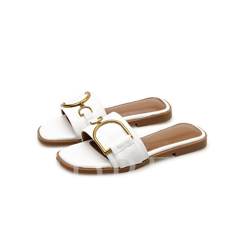 Slip-On Flat With Sequin Women's Slippers