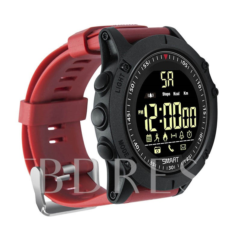 2019 Silicone Military Waterproof Men's Sport Watch