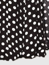 Print T-Shirt Fashion Polka Dots Pullover Women's Two Piece Sets