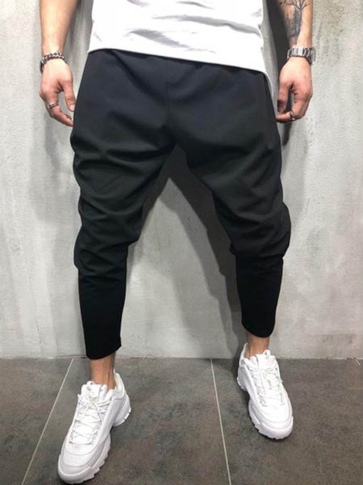 Plain Thin Summer Men's Casual Pants