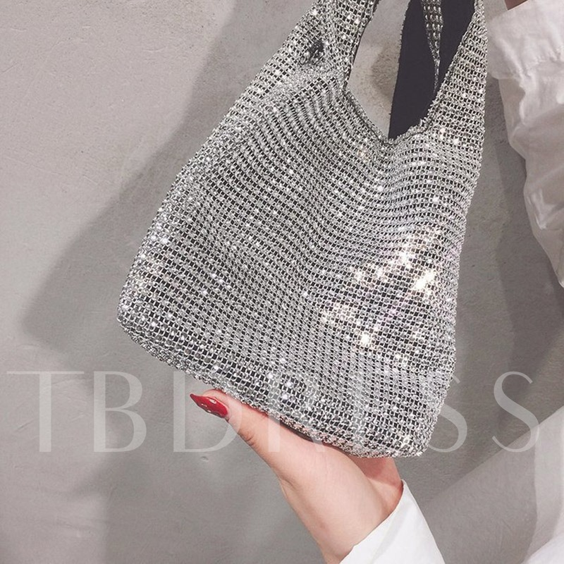 PU Plaid Rectangle Tote Bags