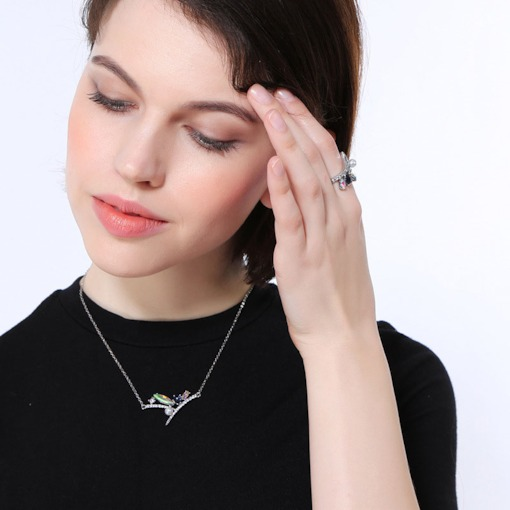 Fine Jewelry Other Fine Jewelry Beautiful Ladies Natural Long Drill Necklace Diamond Best Deal 12 Free Shipping