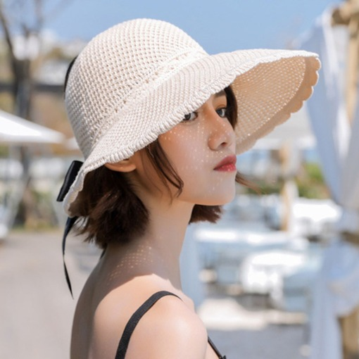 Sweet Hollow Bow-Knot Summer Sun Hat